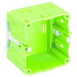 37005201 Spelsberg Kanaldose KD35/52 1fach grün Produktbild