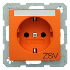 47508914 Berker BERKER S.1/B.x SSD mit Schriftleiste & Aufdruck ZSV orange glän Produktbild