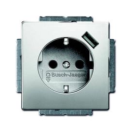 20 EUCBUSB-866 BUSCH-JÄGER Schuko/USB STD 20 EUCBUSB-866 Produktbild