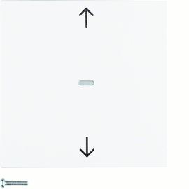 85241188 BERKER NEP S1/B3./B7. Jalousie-Taste polarweiß matt Produktbild
