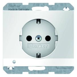 41097009 BERKER K.1 SSD mit LED- Ambientebeleuchtung, polarweiß glänzend Produktbild
