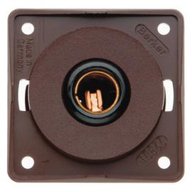 945172501 BERKER INTEGRO Kfz-Steckdose mit Flach- steckeranschluß zu 4637,braun Produktbild
