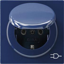 045446 GIRA SCHUKO Steckdose KD S Color Blau Produktbild