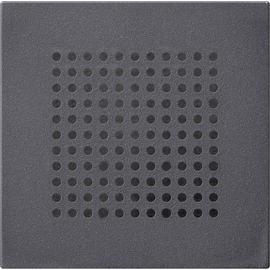 248328 GIRA  Abdeckung Lautsprecher System 55 anthrazit Produktbild