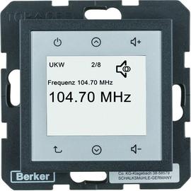 28841606 BERKER S.1/B.x Radio Touch einzeln anthrazit matt Produktbild