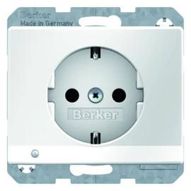 41090069 BERKER ARSYS SSD mit LED- Ambientebeleuchtung polarweiß glänzend Produktbild
