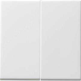091527 GIRA Serienwippen Tastschalter System 55, reinweiß, matt Produktbild