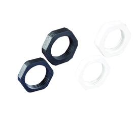 16980329050 NORRES Kunststoff Gegen- mutter, grau GK M 169 M32 Produktbild