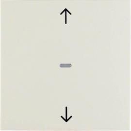 85241182 BERKER S.1 Berker.Net Jalousie Taste, weiß glänzend Produktbild