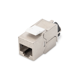 DN-93617 Digitus Keystone Jack CAT.6a RJ45 STP Toolless, Re-Embedded Produktbild