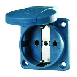 11011 Mennekes MENNEKES Schuko Anbausteckdose blau      16A 2p+E 230V Produktbild