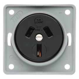 962562506 Berker Integro Steckdose mit Schutzkontakt Austral. grau Produktbild