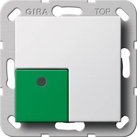 593103 Gira Abstelltaster Funk System 55 Reinweiß Produktbild