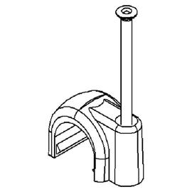 8/25GR Kleinhuis KLEINHUIS ISO Rundschellen               grau 25mm Produktbild