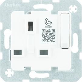 53420219 Berker BERKER SD Einsatz mit Schutzkontakt für  British Standard abs Produktbild