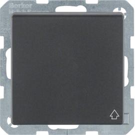 47516066 Berker Q.x Schuko-Steckdose mit Klappdeckel, anthrazit samt Produktbild