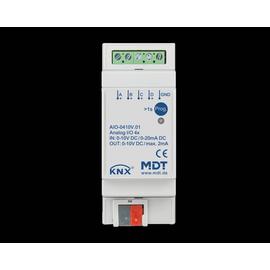 AIO-0410V.01 MDT KNX Schaltaktor 4-fach, 2TE, REG, 0-10V, Ein/Ausgang umschaltbar Produktbild