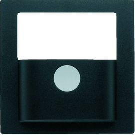 80960485 Berker KNX S.1/B.x Abdeckung f. Bewegungsmelder-Modul anthr. matt Produktbild