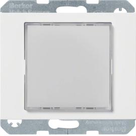 29537009 Berker LED-Signallicht weiß K.1/K.5 polarweiß glänzend Produktbild