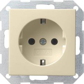 018001 Gira SCHUKO Steckdose SK System 55 Cremeweiß Produktbild
