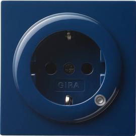 018246 Gira SCHUKO Steckdose mit Beleuchtung S Color Blau Produktbild