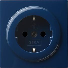 045346 Gira SCHUKO Steckdose KS S Color Blau Produktbild