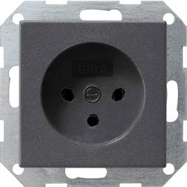 047928 Gira Steckdose HNA System 55 Anthrazit Produktbild