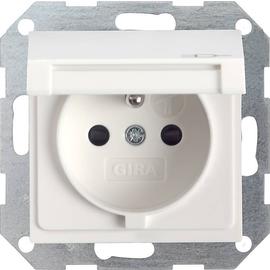 048803 Gira Steckdose Erdstift KS KD System 55 Reinweiß Produktbild