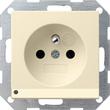 117201 Gira Steckdose Erdstift KS LED Beleuchtung System 55 Cremeweiß Produktbild