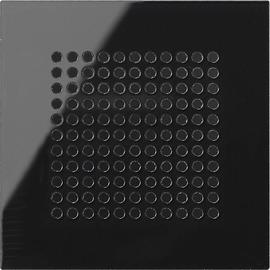 248305 Gira Abdeckung Lautsprecher System 55 Schwarzglasoptik Produktbild