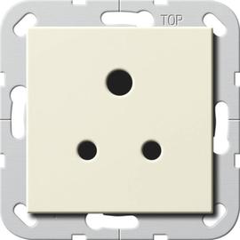 277201 Gira Steckdose Round Pin 5 A System 55 Cremeweiß Produktbild