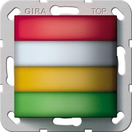 294400 Gira Zimmersignalleuchte Rot,Weiß,Gelb,Grün Rufsystem 834 Produktbild