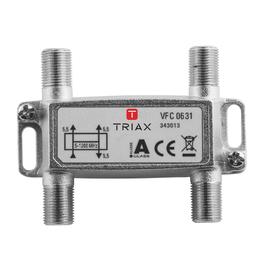 343013 Triax VFC 0631 1,2 GHz 3-fach Verteiler, 5,5 dB Produktbild