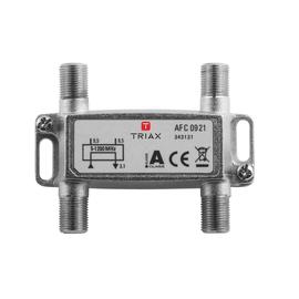 343131 Triax AFC 0921 1,2 GHz 2-fach Abzweiger, 8,5 dB Produktbild