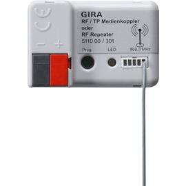 511000 Gira KNX RF/TP Medienkoppler oder RF Repeater Produktbild