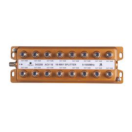 343256 Triax ACV 16 16-fach-Verteiler-BK 5-1000 MHz 16,2dB F-Anschlüsse Produktbild