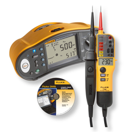 4864830 Fluke FLK 1664 DE-TPL KIT Installationstester-Kit inkl. SW u. T150 Produktbild
