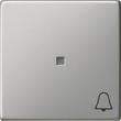 0286600 Gira Wippe Symb. Klingel System 55 Edelstahl Produktbild