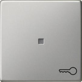 0287600 Gira Wippe Symb. Tür System 55 Edelstahl Produktbild