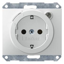 47087009 Berker BERKER K.1 SSD mit FI Schutzschalter erh.Berührungsschutz  po Produktbild