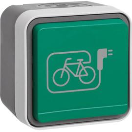 47403533 Berker BERKER W.1 SSD Klappdeckel grün bedruckt Produktbild
