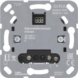 540900 Gira S3000 Nebenst.eins. 3 Draht Einsatz Produktbild