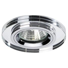 00028200 Brumberg NV Einbaudownlight GX5,3/50W chrom/Glas Produktbild