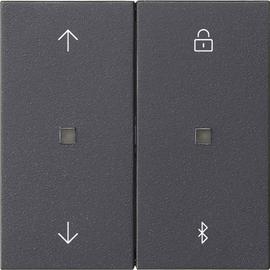 536728 Gira S3000 Bedienaufsatz Jalousie- und Lichtsteuerung Anthrazit Produktbild