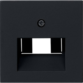 0270005 GIRA ZENTRALSTÜCK F. UAE SYSTEM 55 SCHWARZ MATT Produktbild