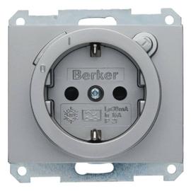 47087004 Berker BERKER K.1 SSD mit FI Schutzschalter und erh.Berührungss. ede Produktbild
