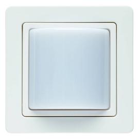52036089 Berker BERKER Q.1 Lichtsignal mit Rahmen 24V= polarweiß samt Produktbild