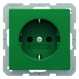 47436013 Berker BERKER Q.x SSD grün samt Produktbild
