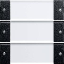 2133005 Gira Wippenset 3f BSF System 55 Klar Schwarz m Produktbild
