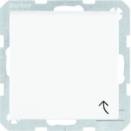 47521909 Berker Schuko-Steckdose mit Klappdeckel IP44 S1 Polarweiß matt Produktbild